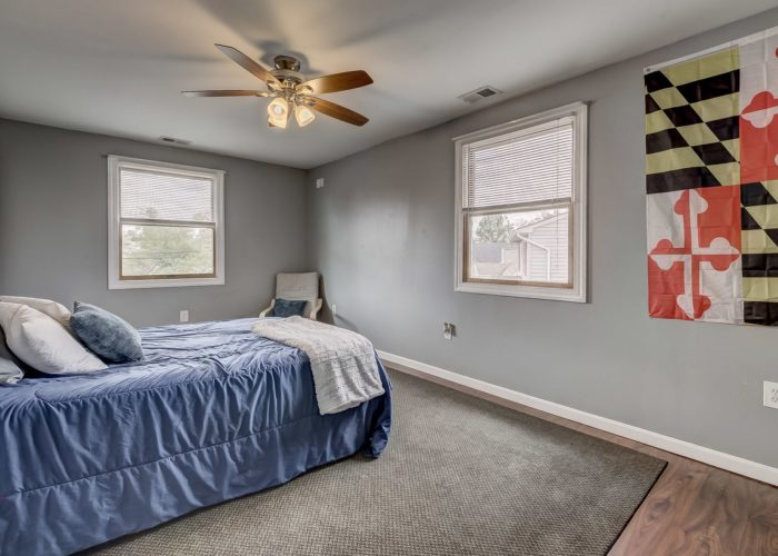 8134 Bullneck Road, one of four bedrooms