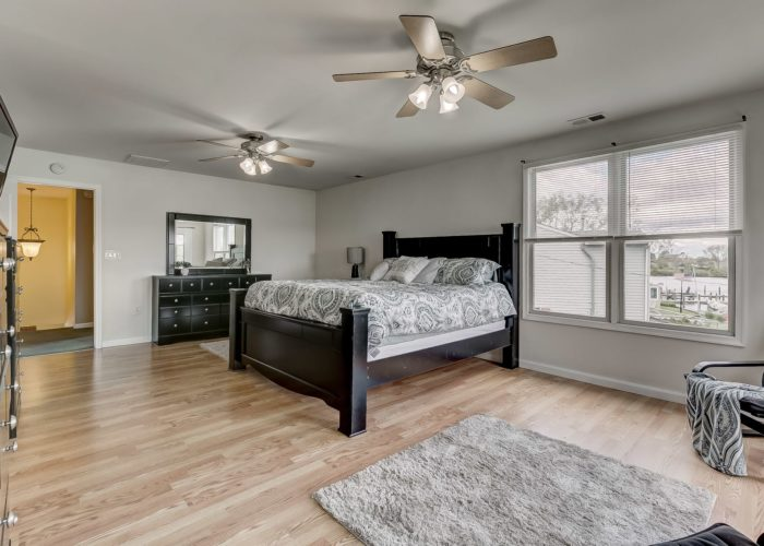 8134 Bullneck Road, beautiful bedroom with a view of the water