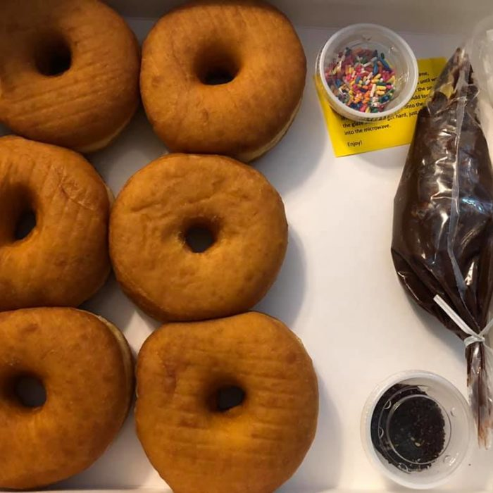 Donut Day, donut decorating kit