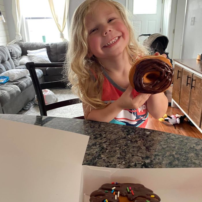 Donut Day, big smiles