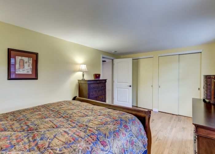 105 East Orange Court, first bedroom with closets