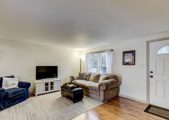 105 East Orange Court, entryway and living room