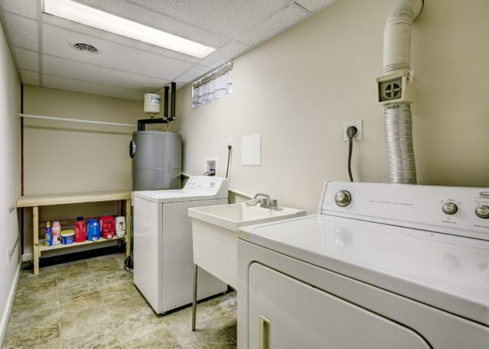 3 Hoff Court, laundry room with washer and dryer