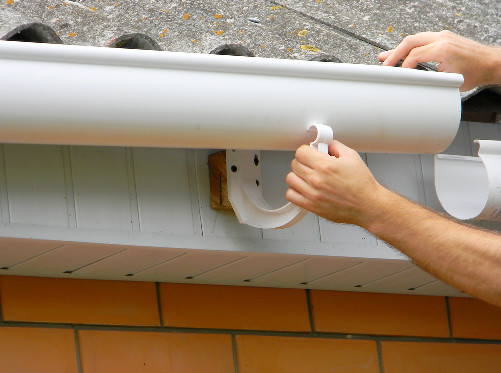 Gutter installation issues can be a problem during a home sale.