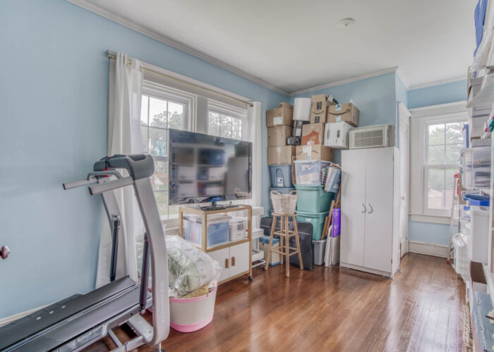 33 E. Seminary Avenue, bedroom used for crafting and exercise