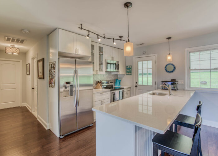 1417 Buckthorn Drive, wider view of kitchen