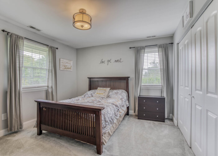 1417 Buckthorn Drive, first bedroom has lots of light