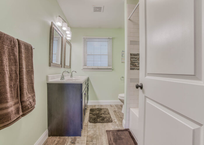 1417 Buckthorn Drive, bathroom with door open