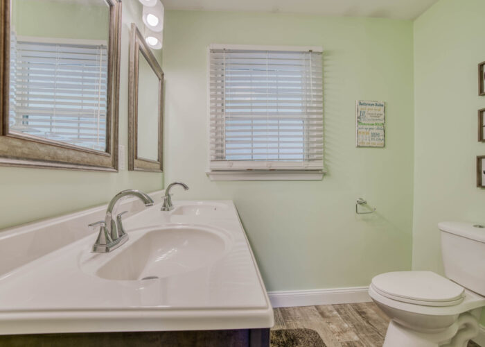 1417 Buckthorn Drive, first bathroom with double sink