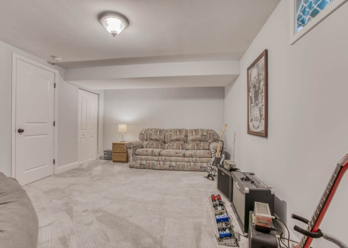 1417 Buckthorn Drive, basement rec room