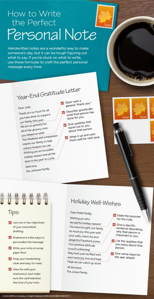 How to write the perfect personal note and make someone's day!