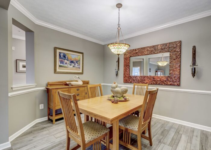 9505 Kingscroft Terrace #M, dining room with pass through