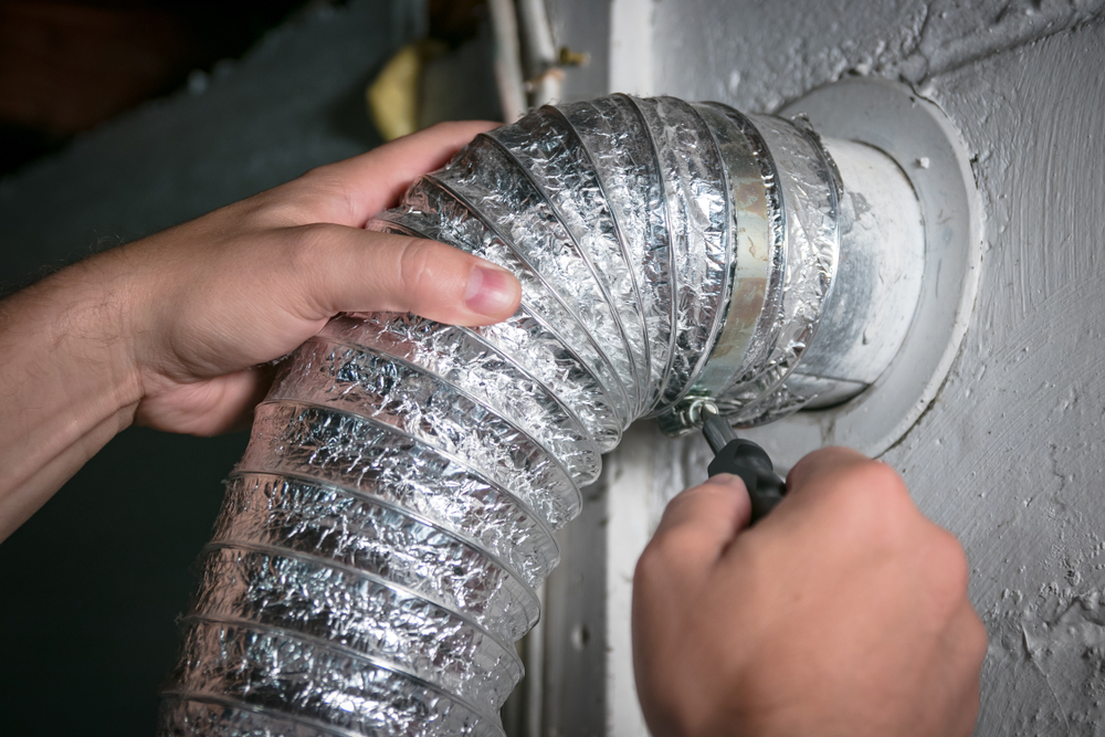 Cleaning dryer vents is important before selling a home