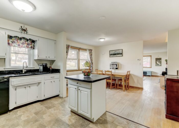 9502 Buckhorn Road, kitchen and dining room