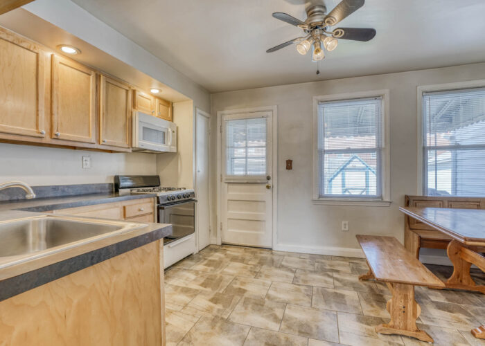 1904 Searles Rd., kitchen flooring and windows