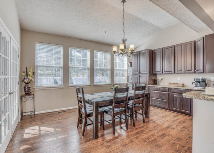 214 Steed Lane, kitchen with French doors
