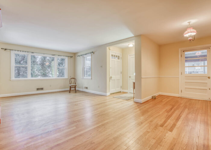 20 E Seminary, living room and dining room