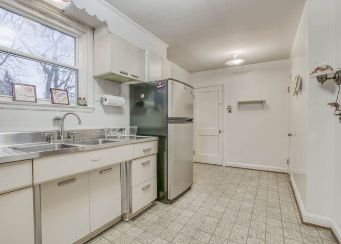 20 E Seminary, kitchen with window above double sink