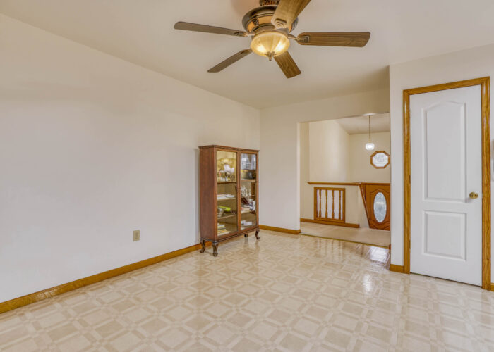 198 Donizetti Ct., dining room with ceiling fan