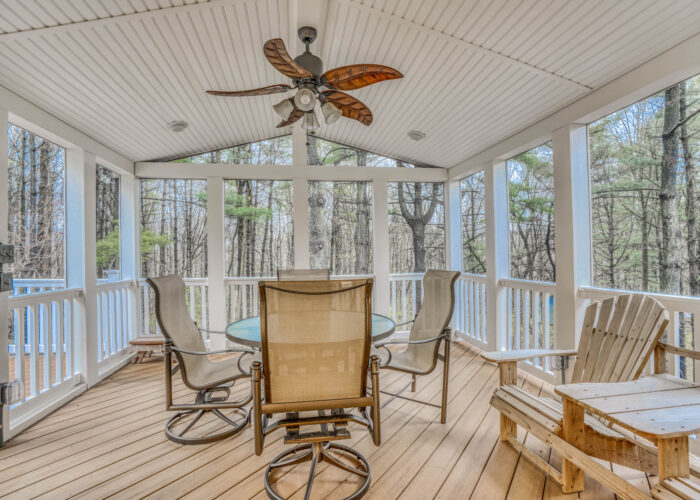 198 Donizetti Ct., screened porch with view
