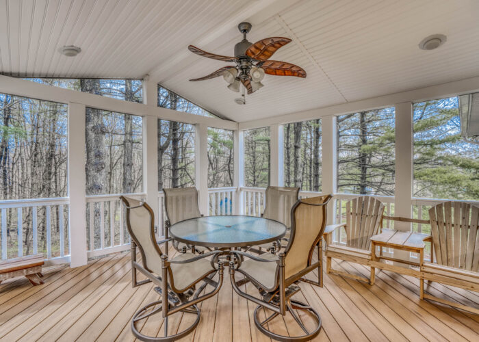 198 Donizetti Ct., screened porch with ceiling fan