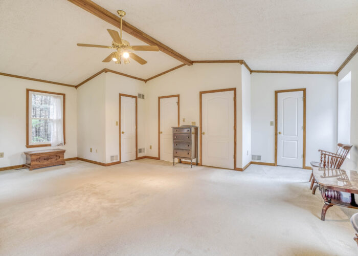 198 Donizetti Ct., master bedroom with ceiling fan