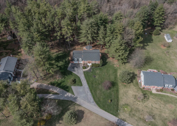 198 Donizetti Ct., drone footage of the house and driveway