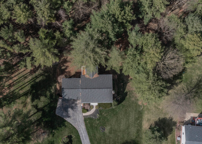 198 Donizetti Ct., drone footage of the top of the house