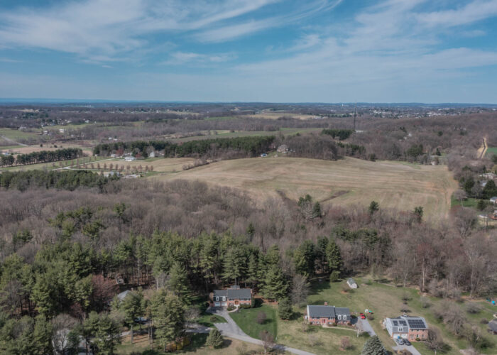 198 Donizetti Ct., sky view of property