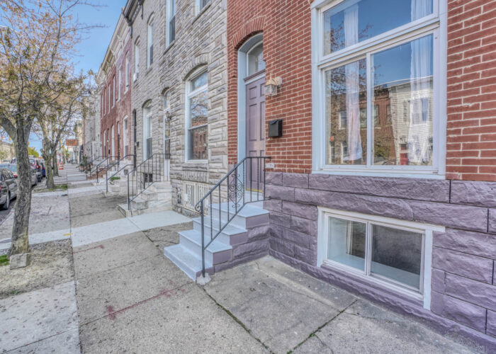 3301 E Baltimore St, front of house