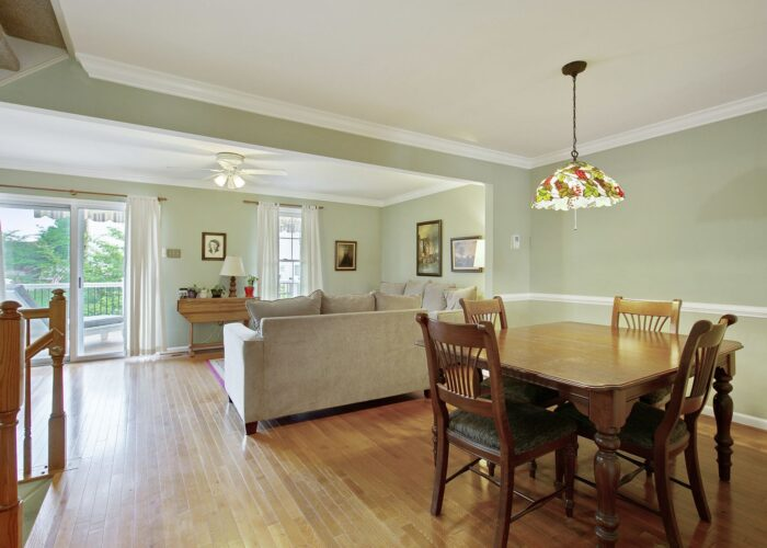 47 Cedarcone Court, dining room and living room
