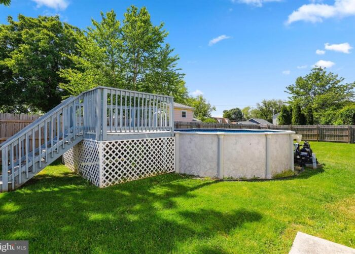 7312 Bay Front Road, above ground pool