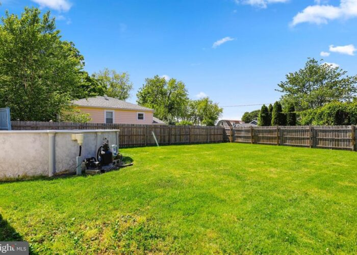 7312 Bay Front Road, fenced yard