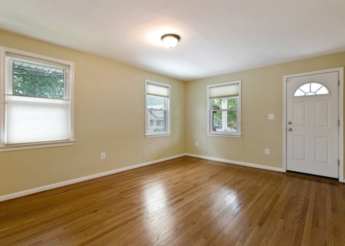 6716 Old Harford Road, living room with windows