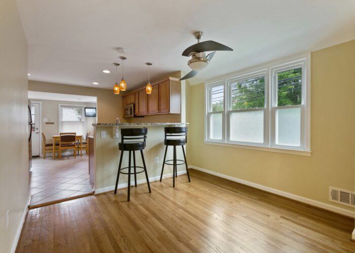 6716 Old Harford Road, breakfast bar and dining room