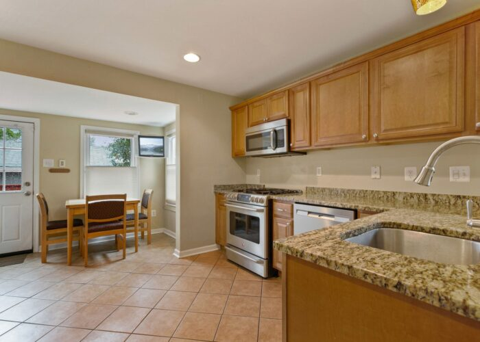 6716 Old Harford Road, kitchen with granite counters