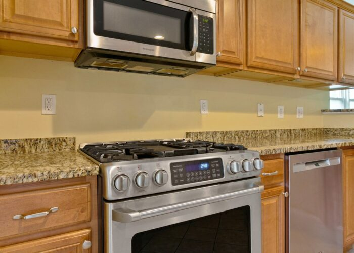 6716 Old Harford Road, stainless stove and dishwasher