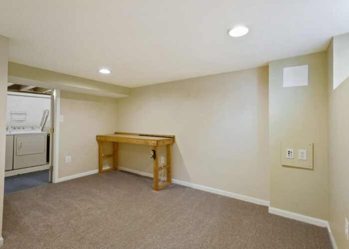 6716 Old Harford Road, extra space looking into utility area