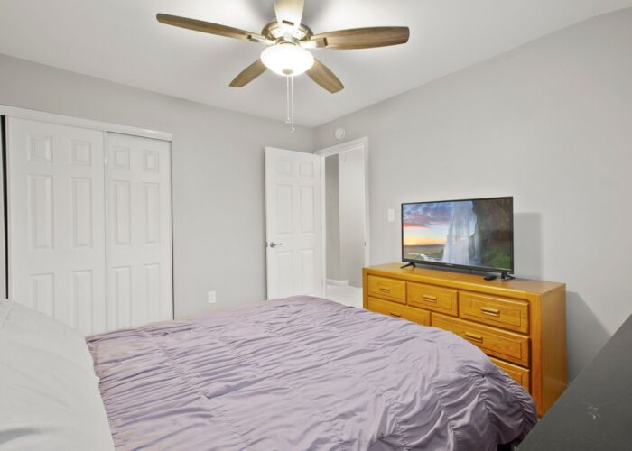 8054 Wallace Road, first bedroom