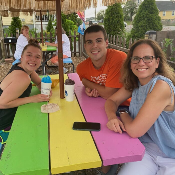 Kona Ice Event, happy to get together in person