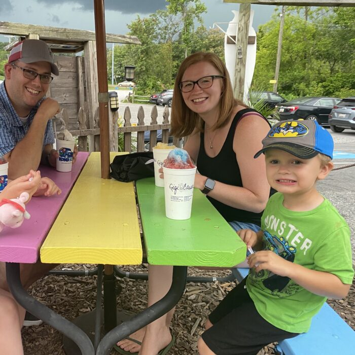 Kona Ice Event, fun for the whole family