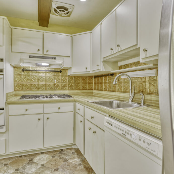 2502 Lampost Lane, kitchen white cabinets and appliances