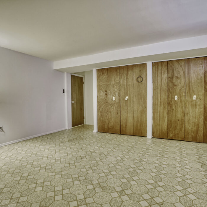 2502 Lampost Lane, lower level room with lots of closet space