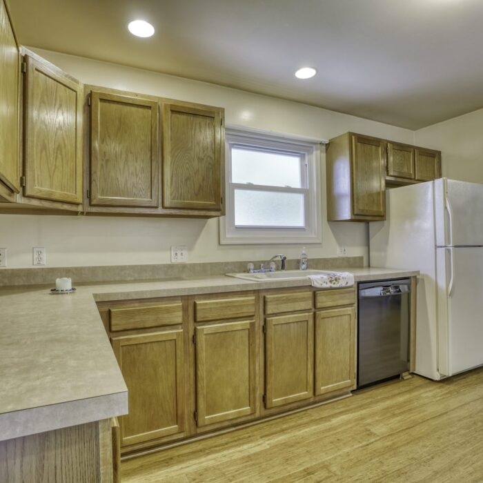 2803 Page Drive, kitchen has lots of counter space