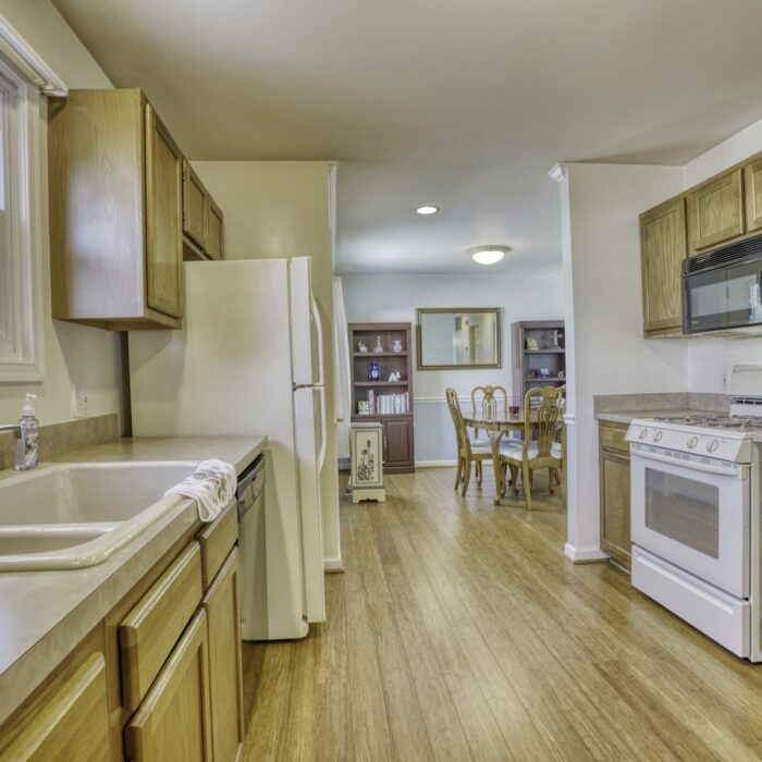 2803 Page Drive, kitchen showing sink