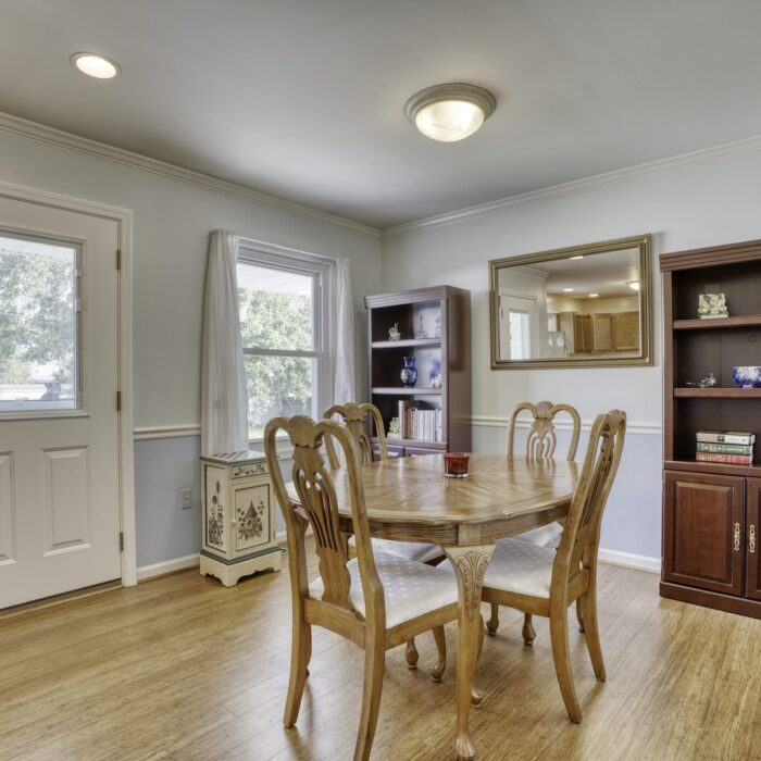 2803 Page Drive, dining room with exterior door