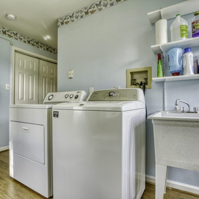 2803 Page Drive, laundry room