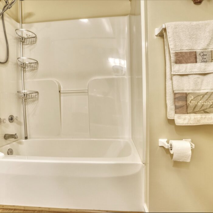 2803 Page Drive, bathroom with shower