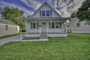 2803 Page Drive, front of house