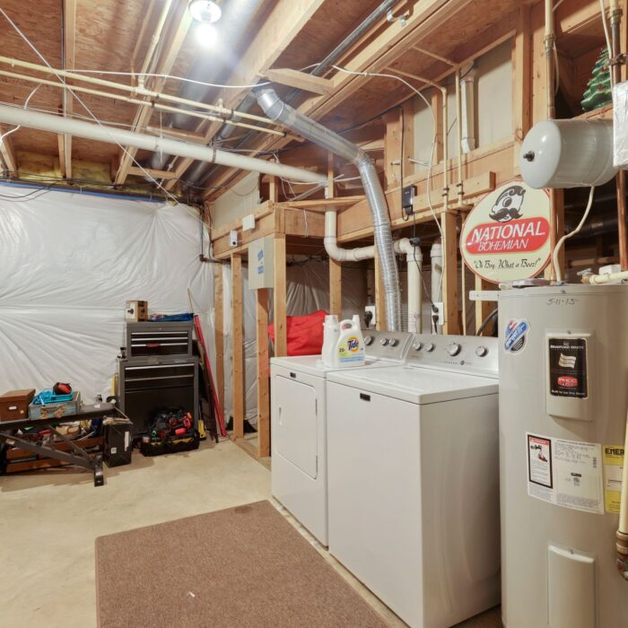 454 Deer Hill Circle, utility room with washer and dryer